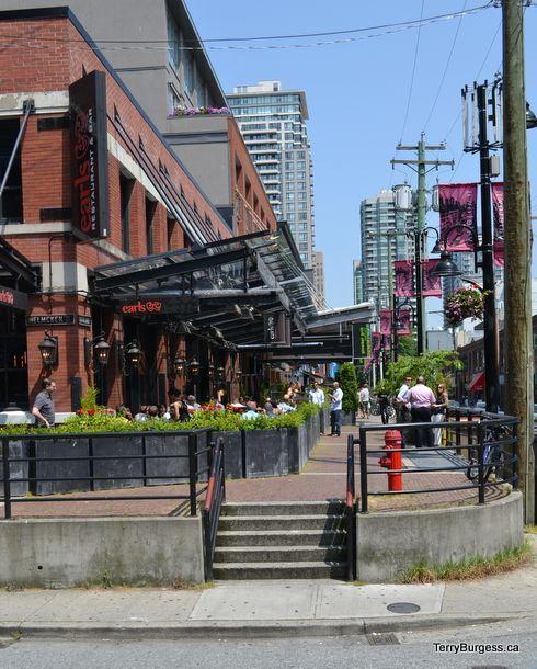 Yaletown Vancouver: Vancouver City, Sidewalk Cafe, Vancouver