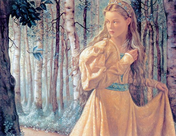 "Ruth Sanderson, from "" The twelve Dancing Princesses""."