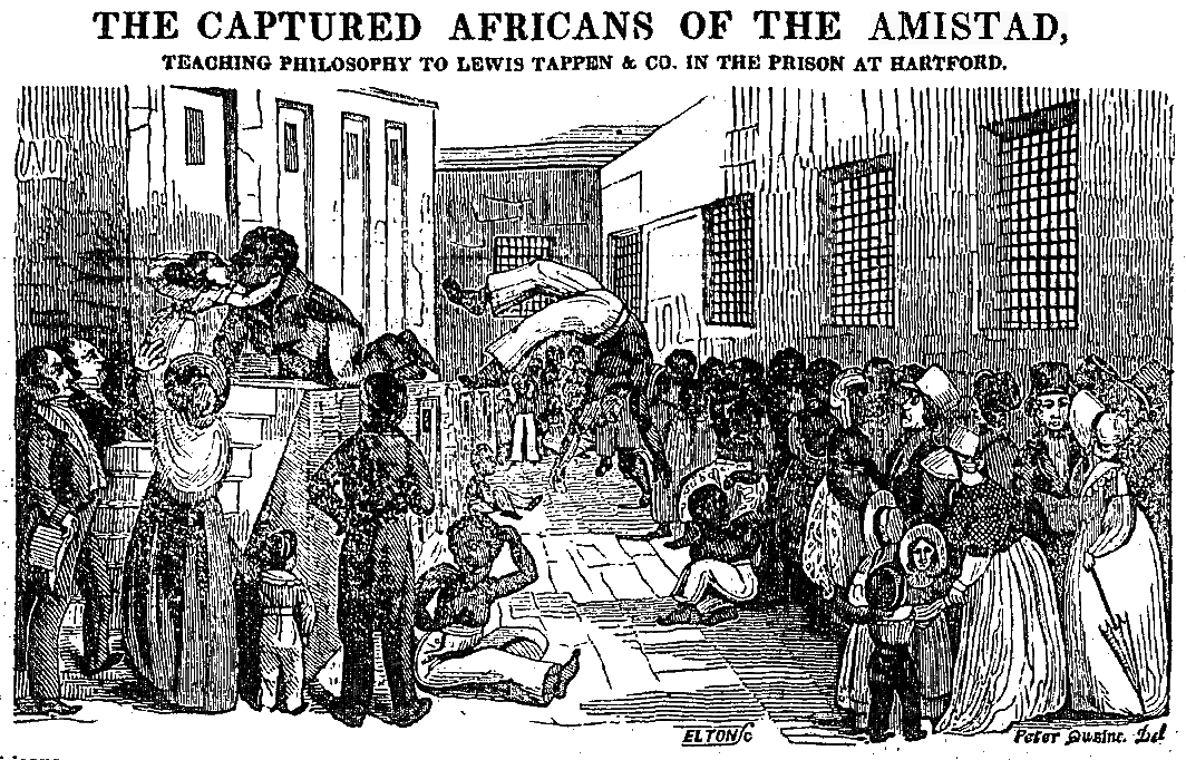 amistad slave ship essays It does contain a few visually compelling moments, such as the scene on a slave ship that viscerally conveys the horrors of the middle passage overall, however, as a movie amistad is simply a bore as history, this account of a cuban slave ship seized in 1839 by its african captives, and their legal travail that ended in the u s supreme.