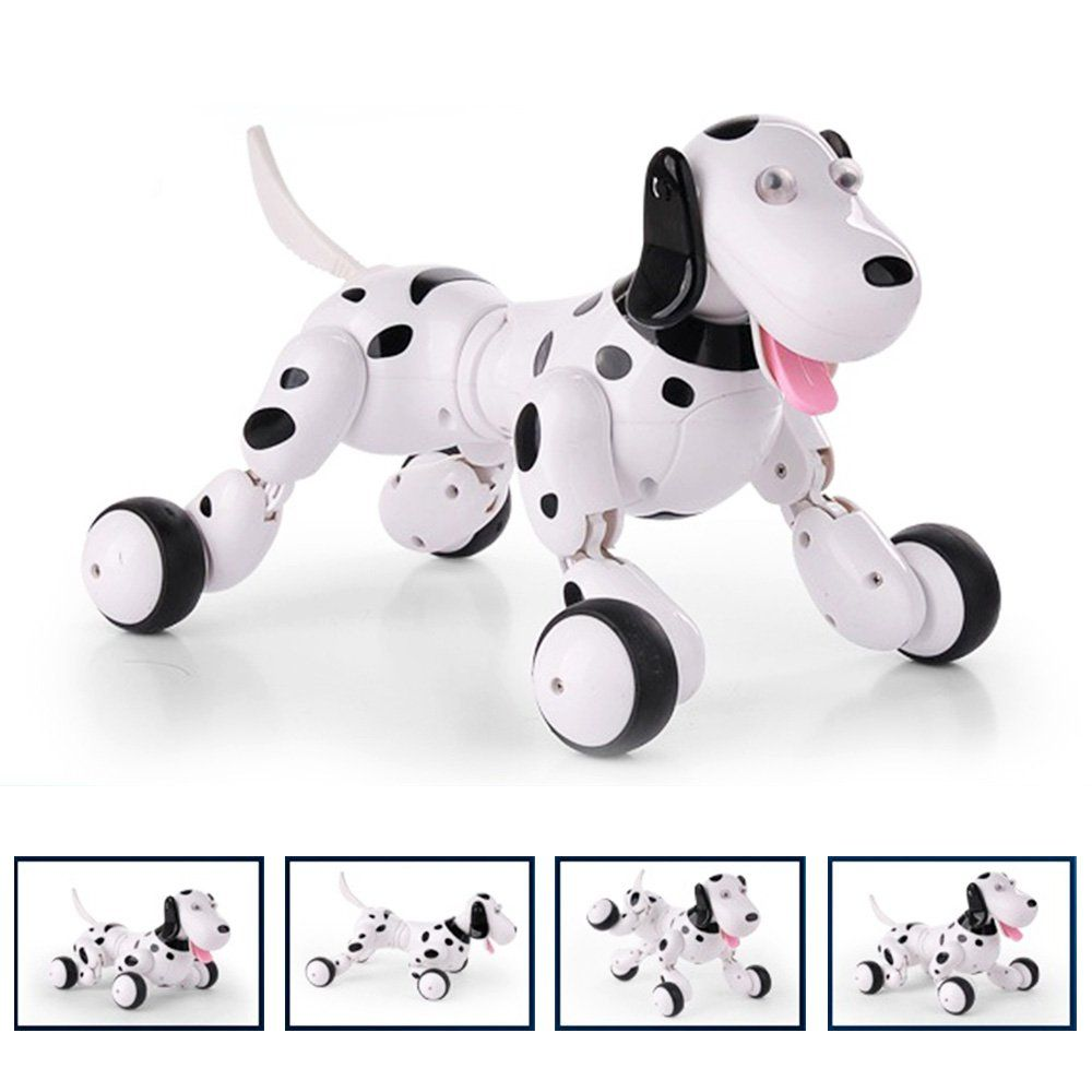 Zlimio Electronic Pets Toy 2 4ghz Rc Remote Control Smart Robot