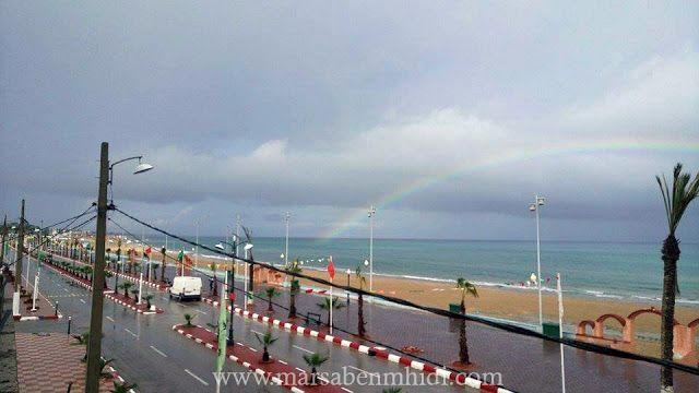 مرسى بن مهيدي صورة قوس قزح شاطئ مرسى بن مهيدي Rainbow Tourism Ciel