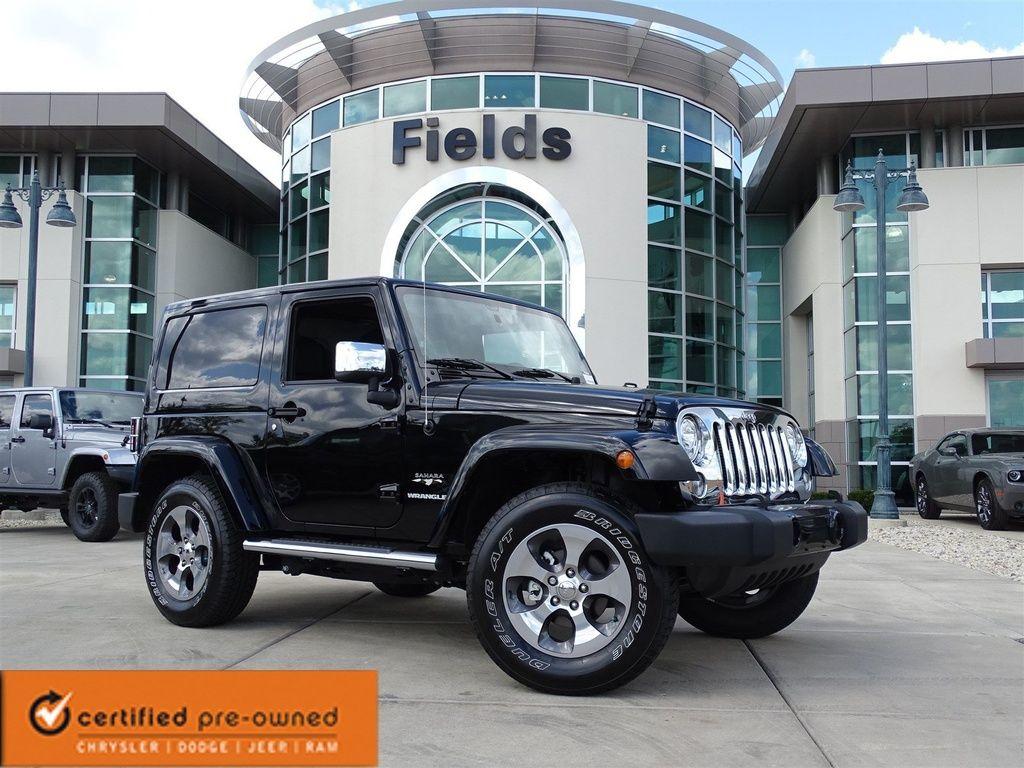 2017 Jeep Wrangler Sahara 40 411 Glenview Il 1 063 Mi Used