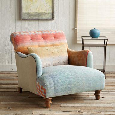 One Of A Kind Taj Sari Armchair, One Of A Kind Furniture