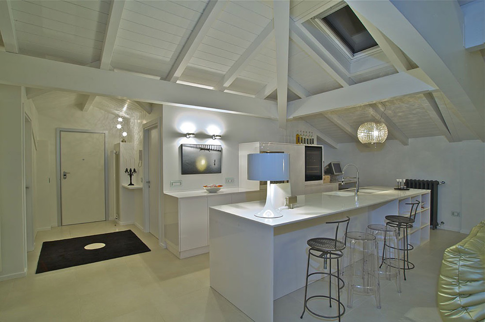 Dolmen Modern And Rustic Kitchen Design By Valcucine