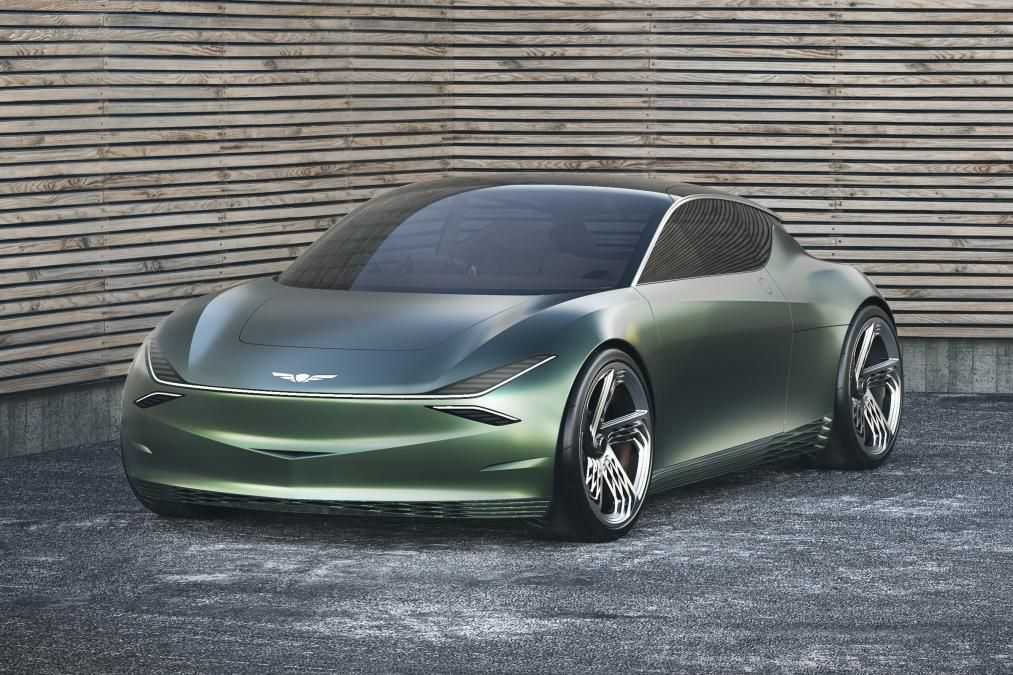 Genesis Mint Concept front City car, Car, Concept cars