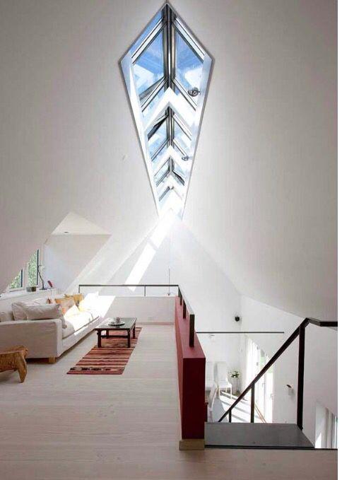 Open balcony and sun lights Apartment houses design ideas