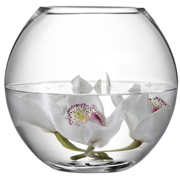 Lsa Flower Round Bouquet Vase 22cm 41 Liked On Polyvore