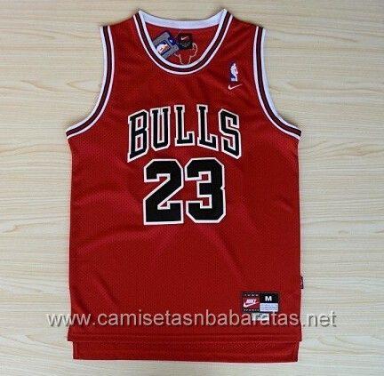 9977f0b8f camisetas NBA Chicago Bulls  23 Jordan rojo €19.99