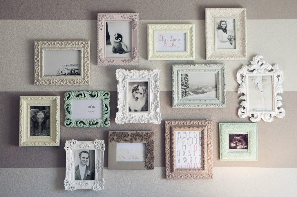 adorable vintage frame collage. Find cute old or new frames, spray ...