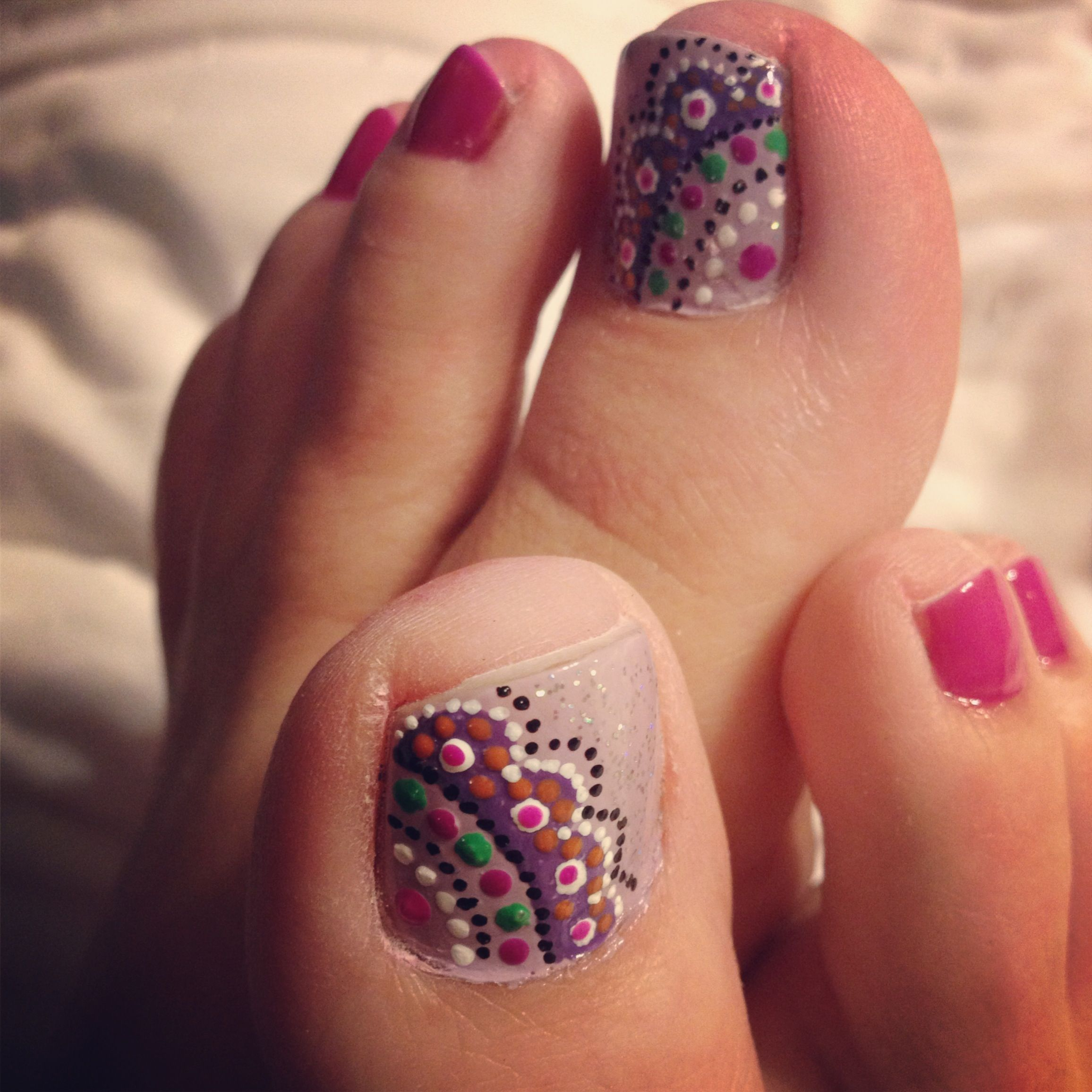 Doily toenail art | doily | Pinterest | Pedicures, Pedi and Mani pedi