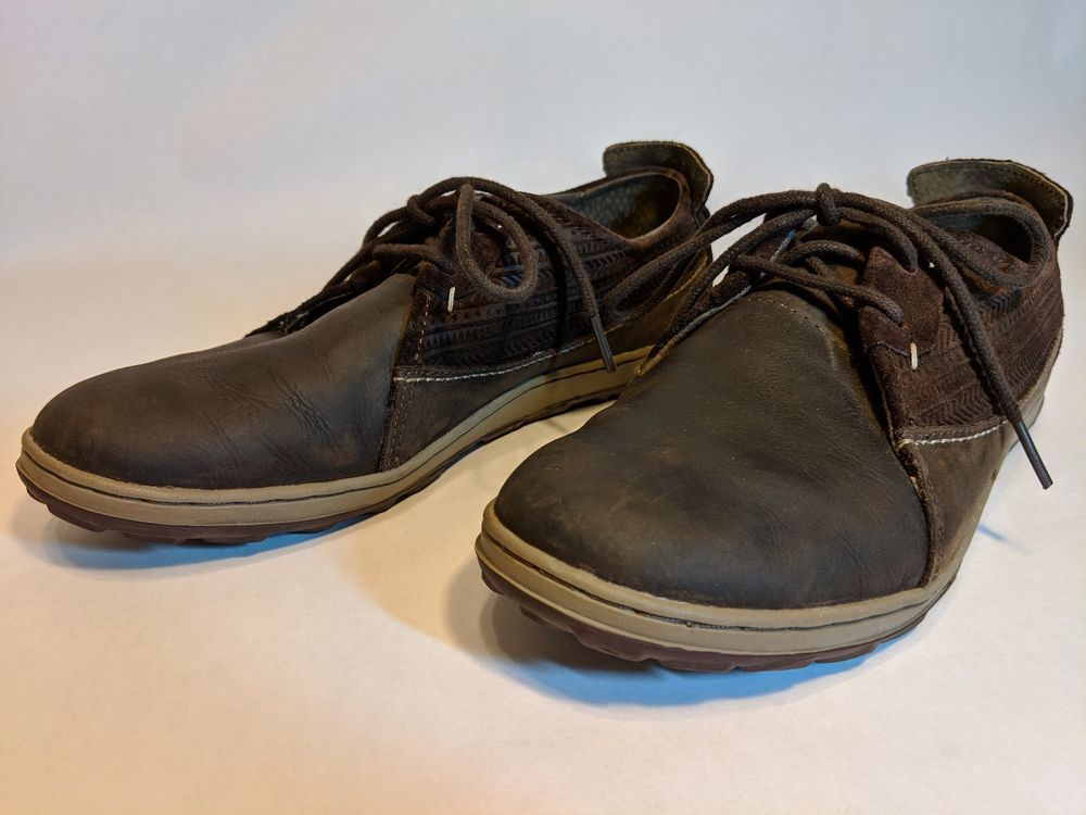 c5a28020eb79 Merrell Womens 9.5 Ashland Tie Brown Sugar Leather Shoes Oxfords Lace-Up   fashion