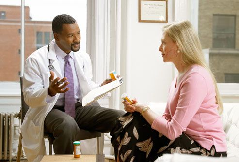 Learn How To Talk To Your Doctors || Image Source: http://www.myhousecallmd.com/wp-content/uploads/2010/03/getty_rf_photo_of_doctor_and_patient_talking.jpg