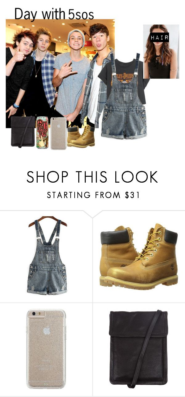 """""""Fun with 5sos"""" by mama1161 ❤ liked on Polyvore featuring Harley-Davidson, Timberland, Case-Mate, Ann Demeulemeester and REGALROSE"""