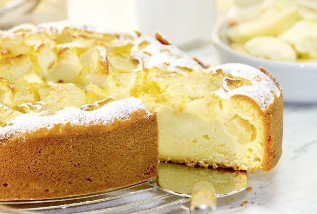 Apfel Quark Kuchen Recipe Lecker Pinterest Desserts Kuchen