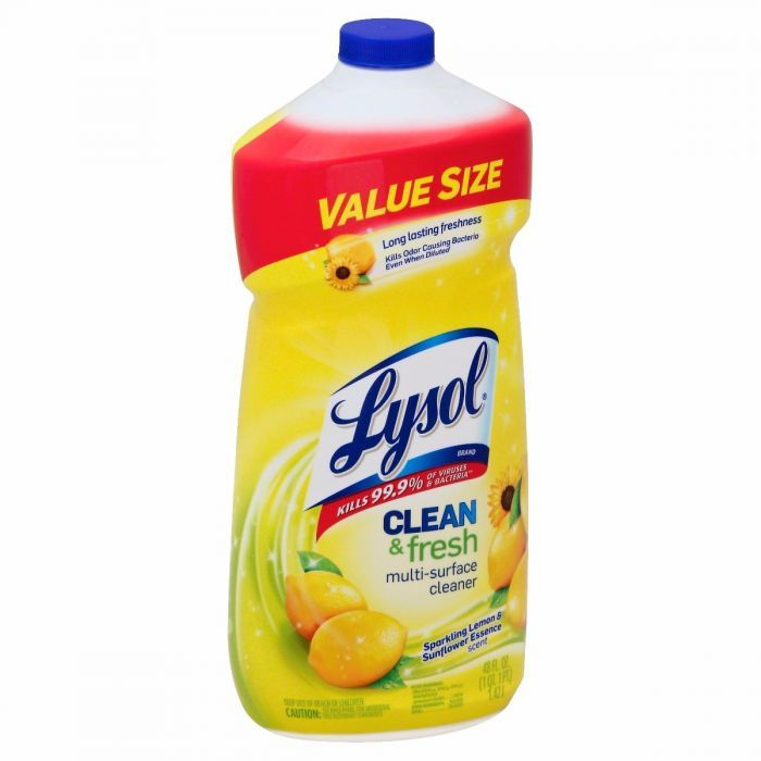 Lysol Clean and Fresh MultiSurface Cleaner, Lemon