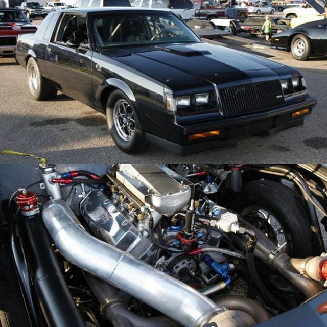Buick Gn Small Block V 8 With 106mm Turbo G Body Drag Racing