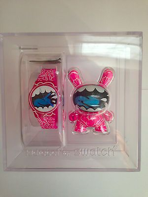 Autographed Shout Out Watch & Dunny from the KidRobot for Swatch Collection