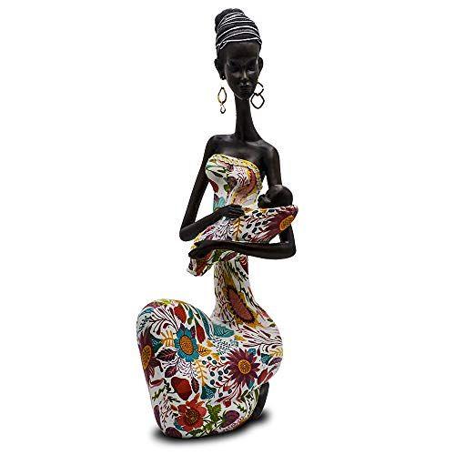 Statue African Figurine Sculpture