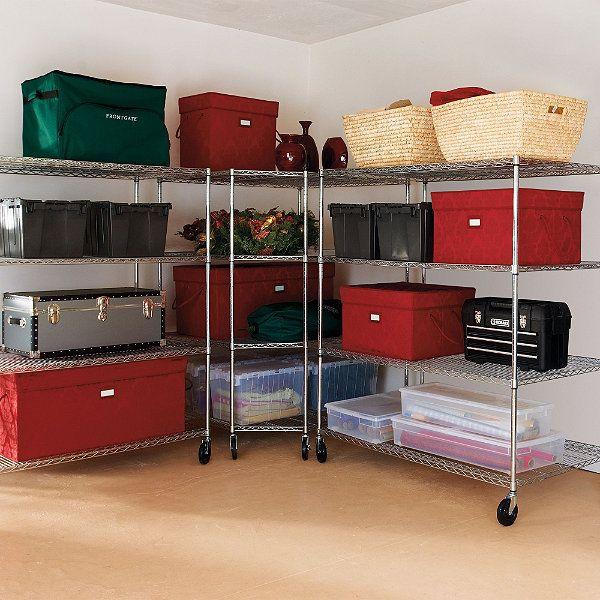 Oversized Storage Shelving