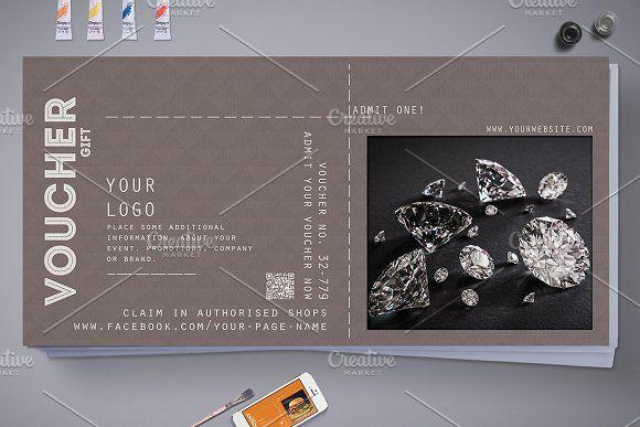 Multipurpose Gift Voucher @creativework247 Templates - Templates - payment voucher template