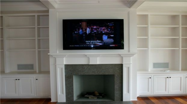 Tv 39 s above fireplace on pinterest tv above fireplace tv for Tv over fireplace