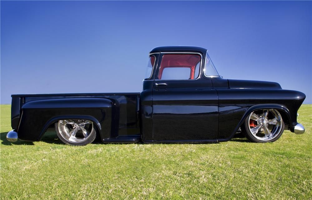 1956 CHEVROLET 3100 CUSTOM PICKUP - Barrett-Jackson Auction Company - World's Greatest Collector Car Auctions