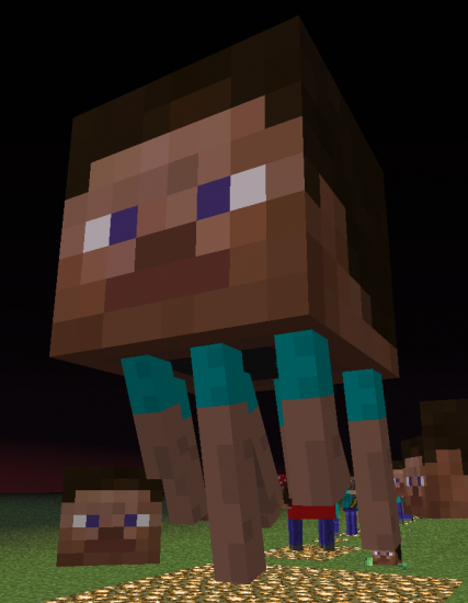 Minecraft Narcisissmcraft Texture Pack Makes Everything Terrifying Look Like Steve Minecraft Images Minecraft Pictures Minecraft Funny