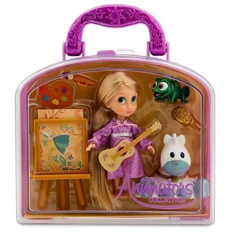 Disney Animators Collection Rapunzel Mini Doll Play Set – 5