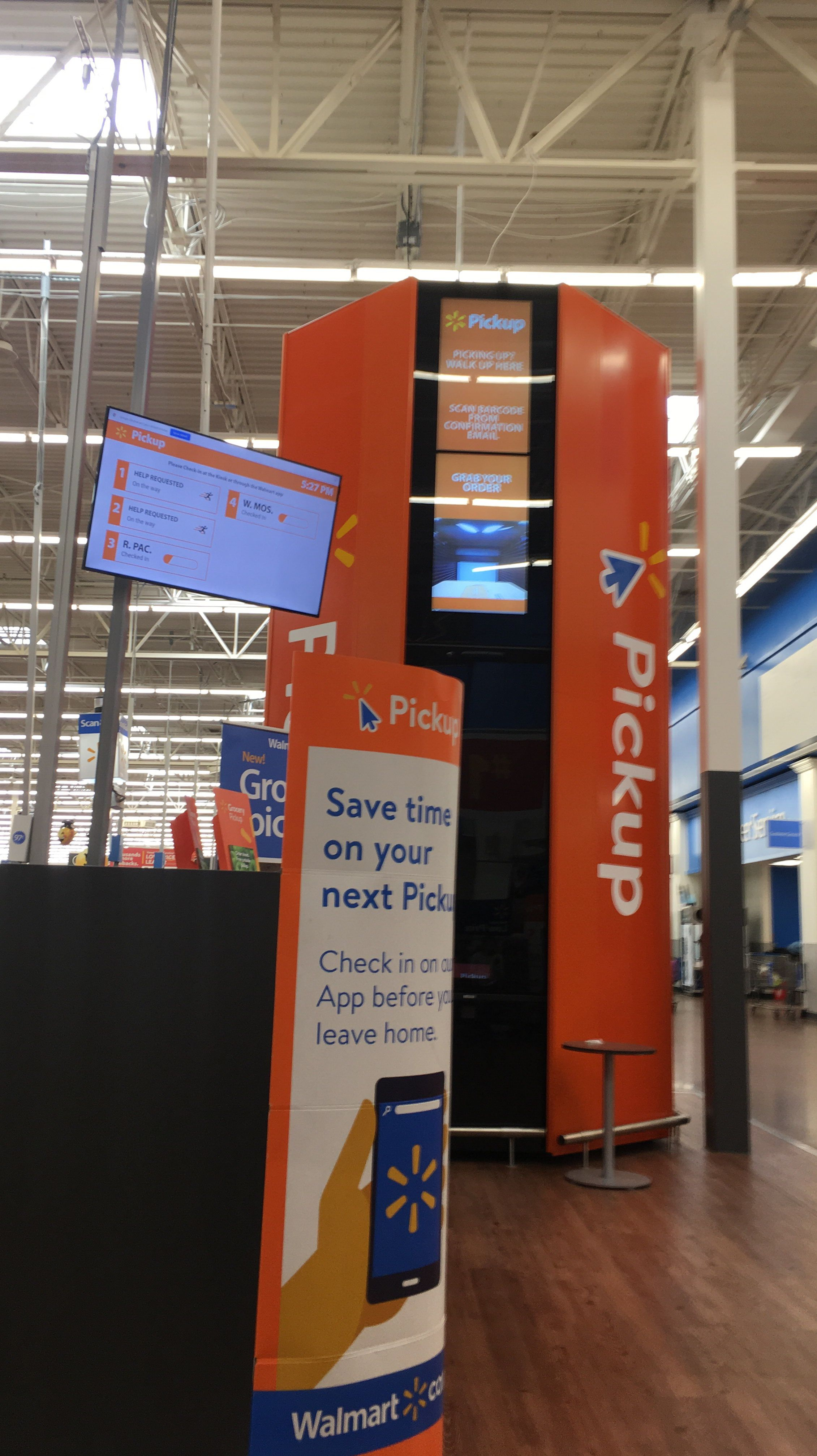 First Time Using Walmart Pickup App Home Check In App Walmart