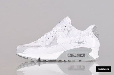 info pour dfce4 6c123 Nike Air Max 90 White Runing Shoes | nike roshe run in 2019 ...