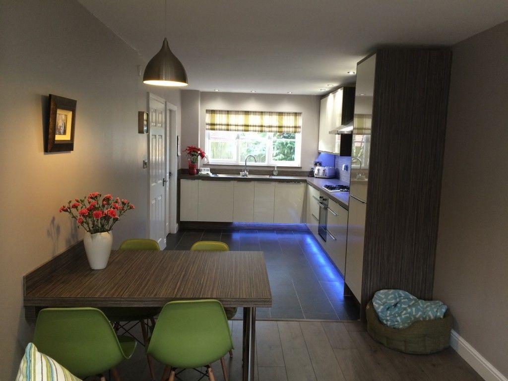 Image result for garage conversion knocking into kitchen