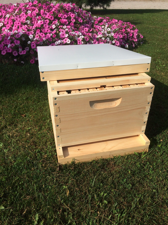 9 5/8 Deep Brood Bee Hive w/frames ( UN-Assembled ) | Langstroth ...
