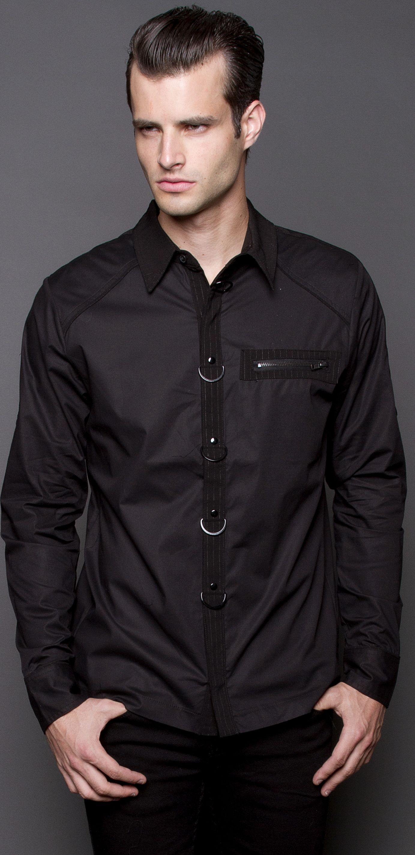 Mens - Shirts - Mens Dress Shirt