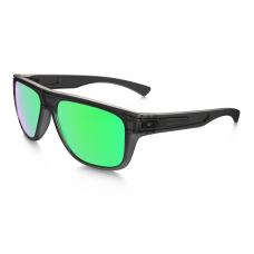 caa2da375f6 Oakley Breadbox Sunglasses Matte Black Ink   Jade Iridium Lens ...