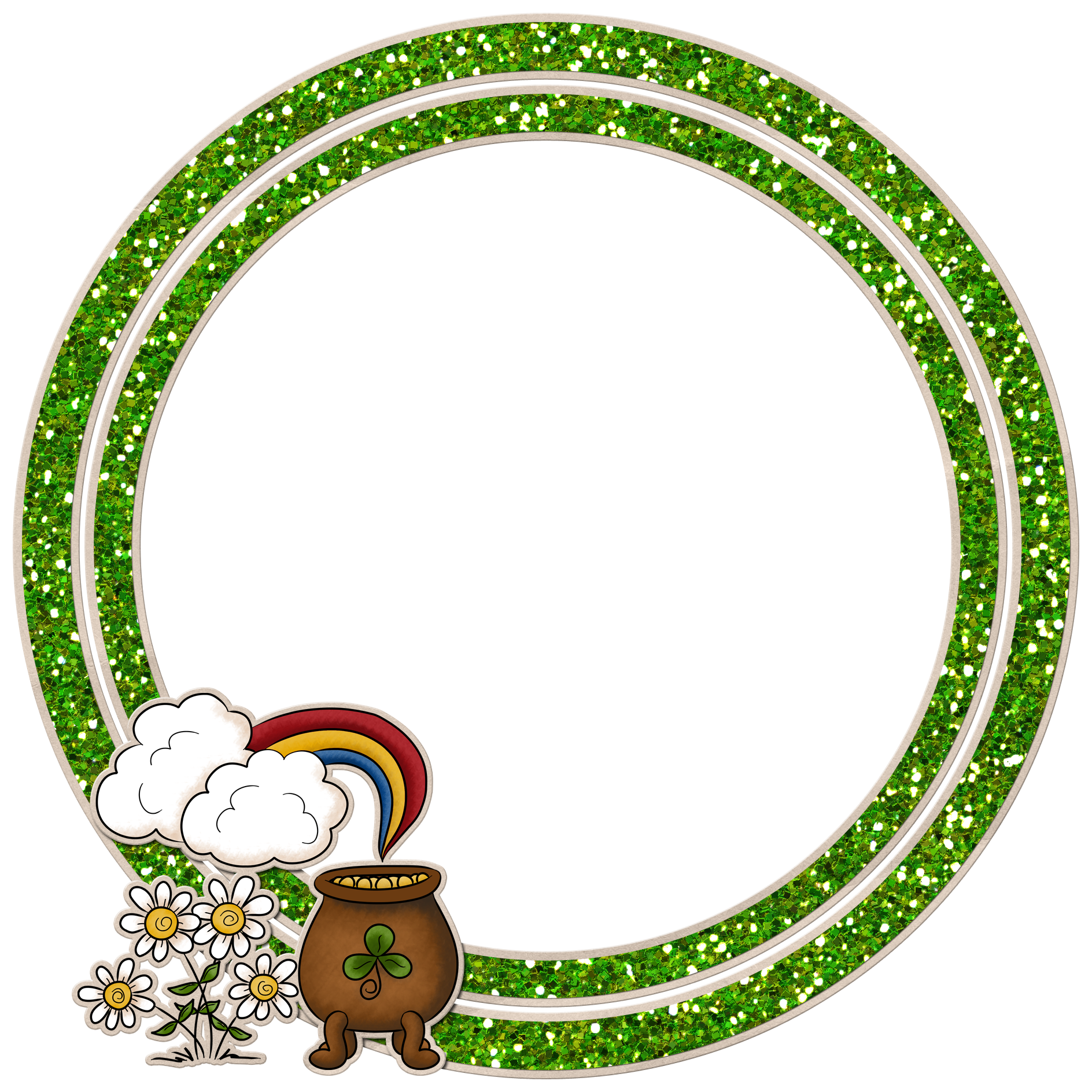 Irish Frame St Patricks Day Graphics And Animations