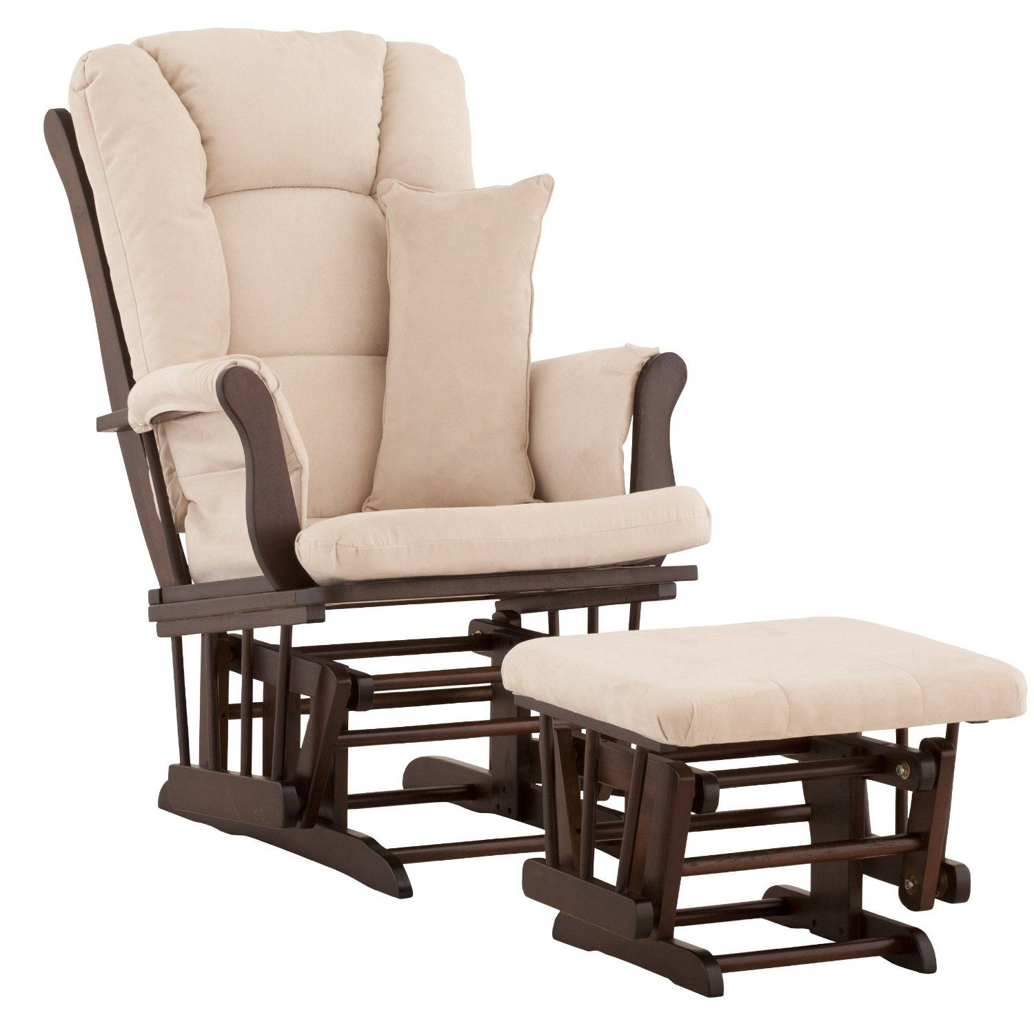 Rocking Chairs Glider With Ottoman
