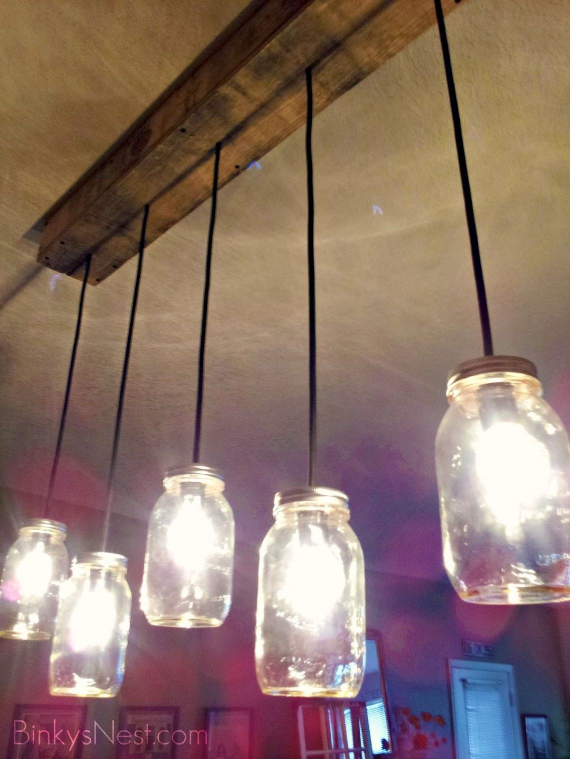 Rustic Hanging Light Kitchen Ceiling Lights Bulb Fixtures Lighting ...