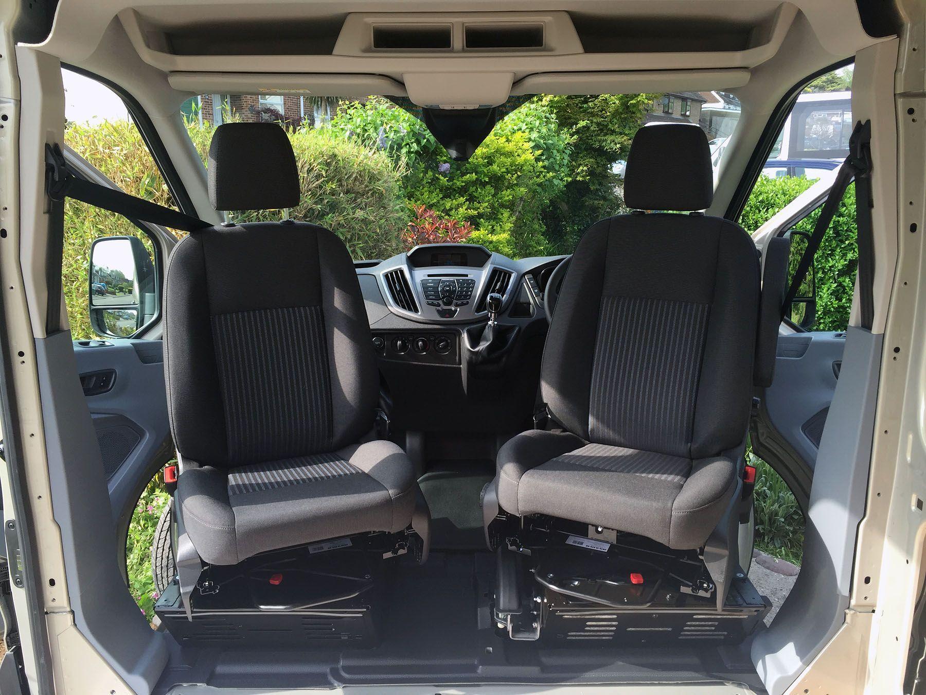 ford transit custom front single passenger seat tanzkurs single wien