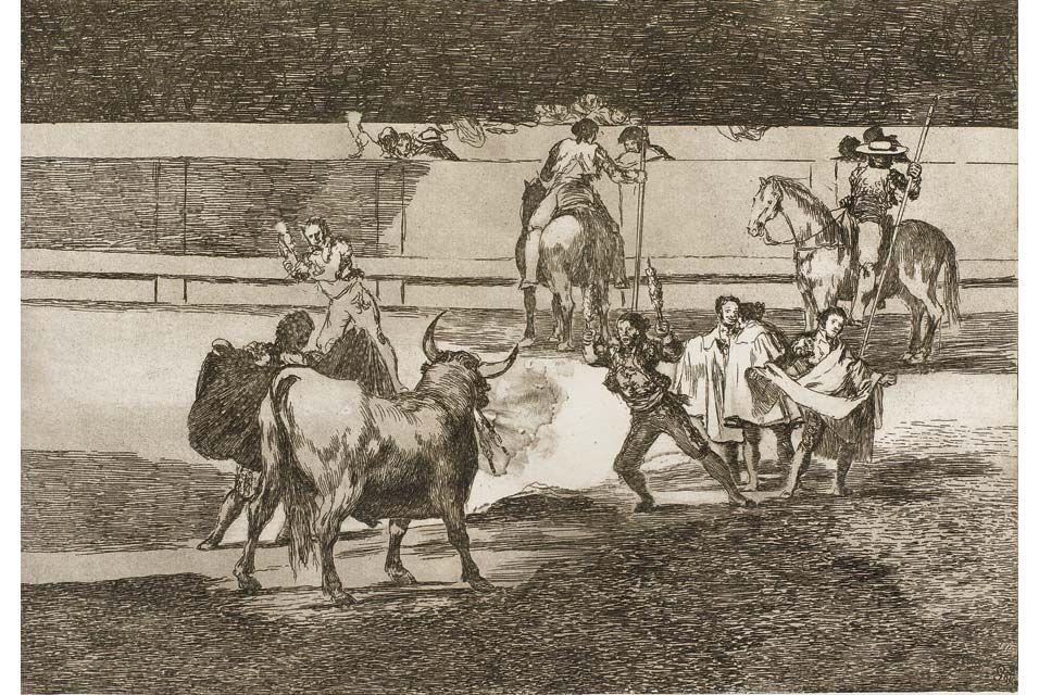 Francisco Jose de Goya y Lucientes (1746 - 1828), La Tauromaquia.