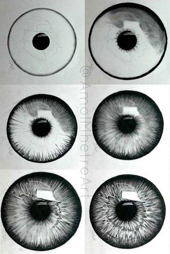 20 idées incroyables pour le dessin des yeux et l'inspiration - Brighter Craft