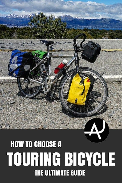 How To Choose A Bicycle For Touring 7 Easy Steps With Images Bike Touring Gear Bike Touring Packing Touring Bicycles