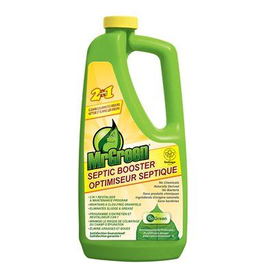 Mrgreen Septic Cleaner 4600101 34 Oz Septic Booster Products