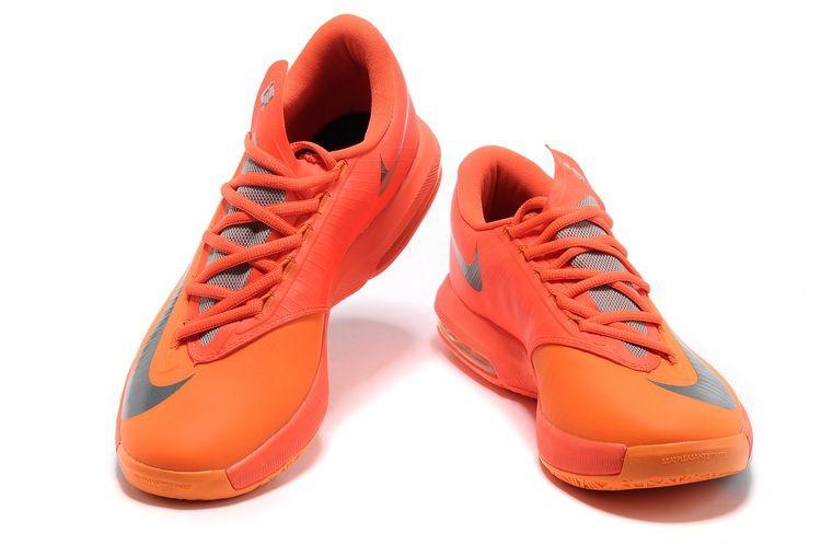 new style 1d822 8438d Nike KD VI Total Orange Armory Slate  109.99
