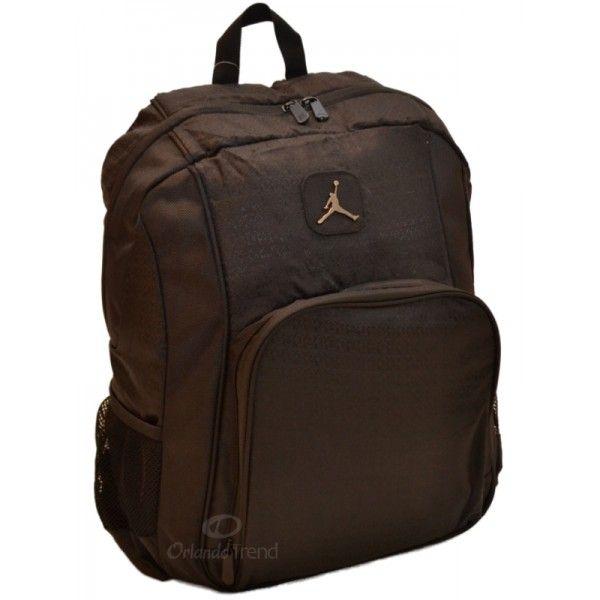 5ca40ae0f30a Nike Air Jordan 15 inch Laptop Backpack in Black 9A1456-023 at OrlandoTrend. com  OrlandoTrend  Nike  Backpack