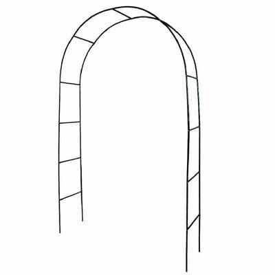 Tectake Arche De Jardin Pour Plantes Grimpantes Et Rosiers 240 X