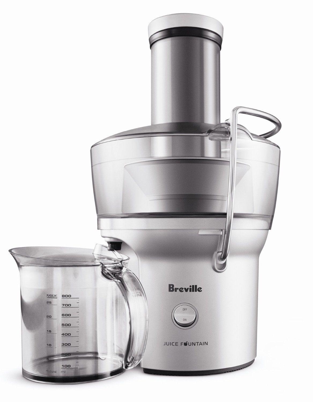 BREVILLE BRUSHED WHOLE Fruit Juicer