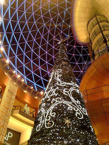 Victoria Square Christmas Tree, Belfast, Northern Ireland