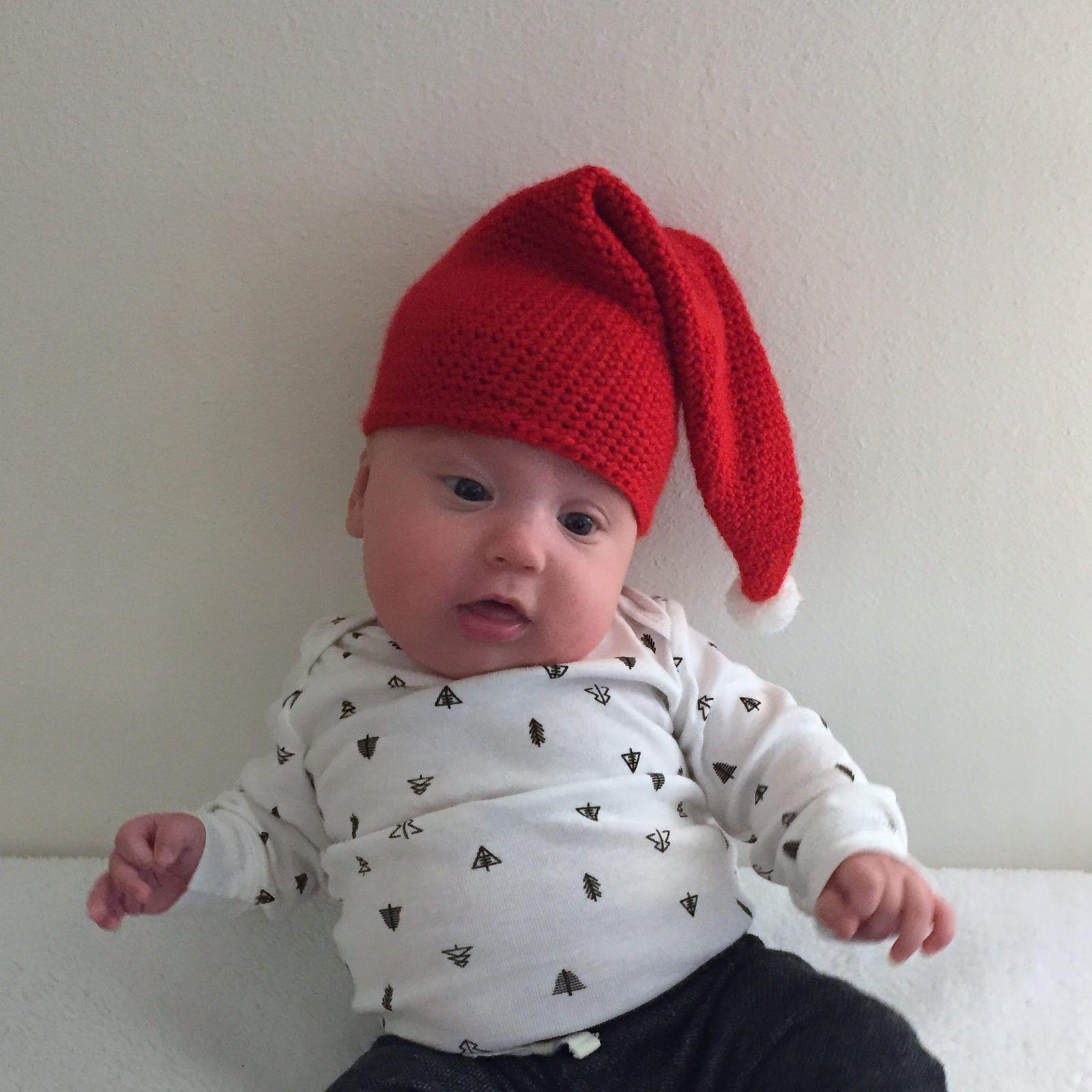 Suvi\'s Crochet: Santa\'s Baby Elf Hat - free crochet pattern | My ...