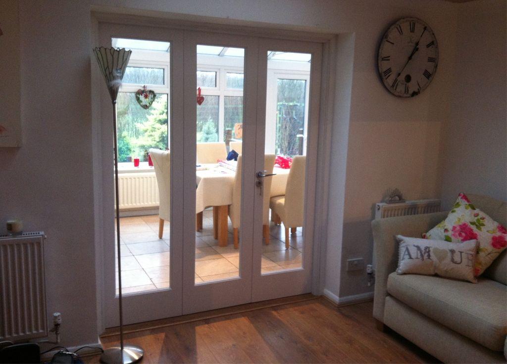Bespoke glazed room dividers 5272 House internal folding