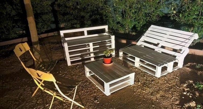 Go to the webpage to see more about Wooden Pallet Projects #palletdecor #palletgarden #recyceltepaletten